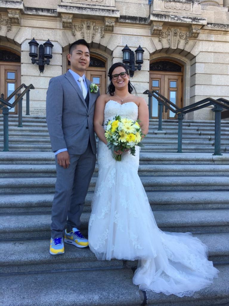 Yellow Shoes — Wascana Flower Shoppe