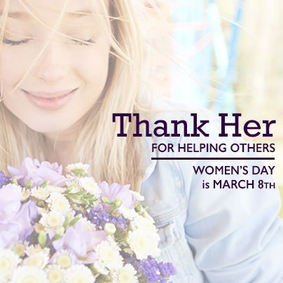 Celebrate with Flowers! - Who do you know that deserves to be celebrated?Your mom, sister, daughter, friend, spouse, or co-worker?Order a special International Women's Day Bouquet today for pick-up or delivery for that special someone.