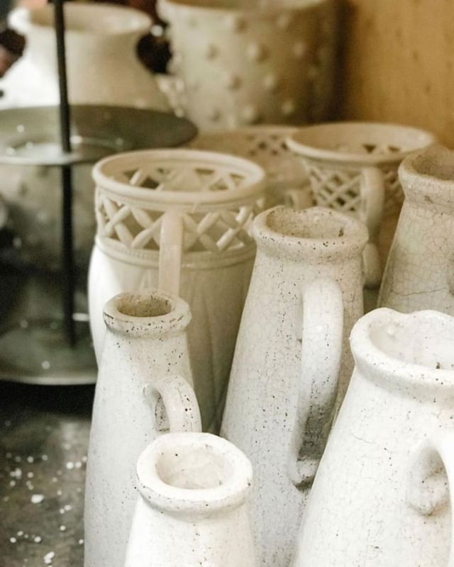 New vases and vessels have arrived to inspire your decor. . . .  #wascanaflowers #yqrflowers #shoplocalyqr #giftsofinstagram #vases #pitchers #floral decor #homedecor