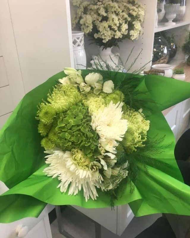 Happy Friday everyone! Today's Fab Friday special is green and white bouquets for St. Patrick's Day for only $20. Tap to order yours. . . .  #fabfriday #fabfridayyqr #showusyourfab #yqrflorist #yqrflowers #yqr #reginaflorist #wascanaflowershoppe #wascanaflowers #shoplocalyqr #canadianflorist #floristsofinstagram