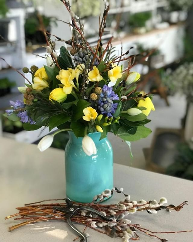 Join us Tuesday, April 9th at 6:30 PM and create a spring inspired floral arrangement that will turn some heads! Register you and a friend online  Twigs & Blossoms - APRIL 9 https://ecs.page.link/9HAp . . .  #workshops #wascanaflowershoppe #wascanaflowers #floristsofinstagram
