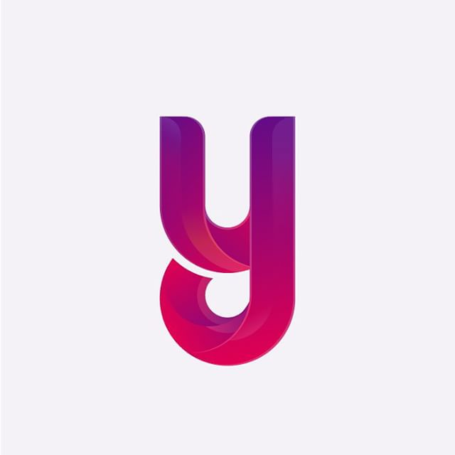 The letter Y. I had a blast creating this clean and elegant mark, what do you think? I'd love to know your thoughts 😊. #logo #vector #illustration #thedesigntip #apjdesign #instadesign #gradient #adobe #illustrator #mark #symbol #typography #style #web #thevectorproject #bauhaus