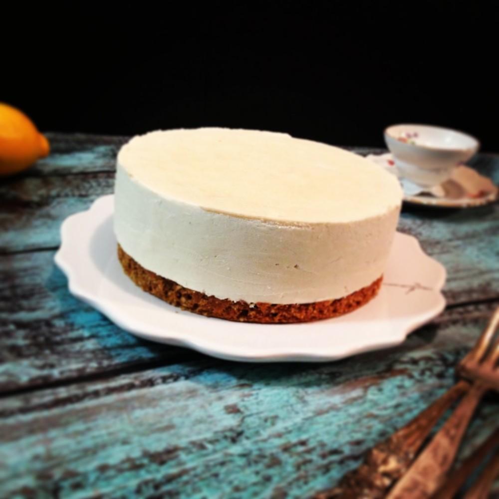 lemon cheesecake, vanilla crust