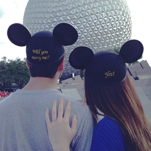 Okay, maybe I DO want that Disney proposal  afterall ....   image found via  Pinterest