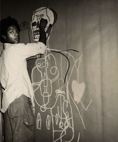 Third Eye by Basquiat.  via
