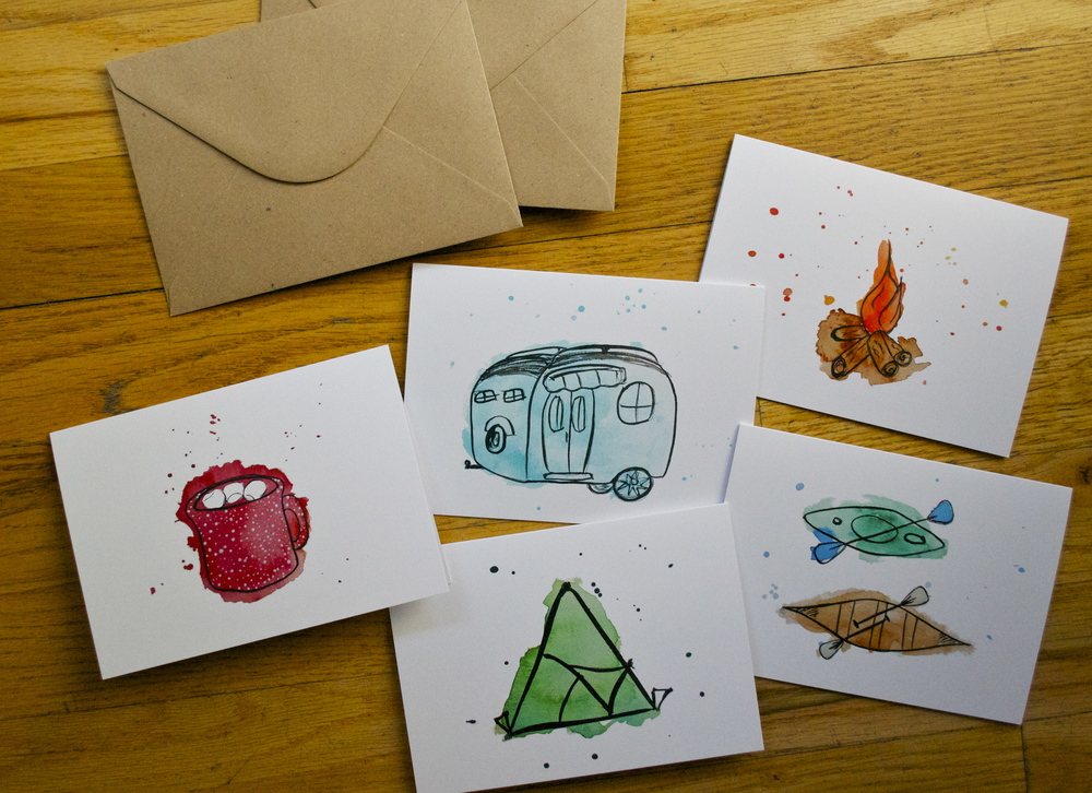 Outdoor Adventures Card Set