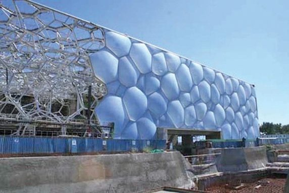 The Water Cube, Beijing National Aquatics Center by PTW, Arup, and CCDI (  Image  )
