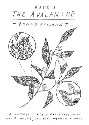 Bongo Java Signature Drink Postcards F/W 2017 — Erin Alise Borzak