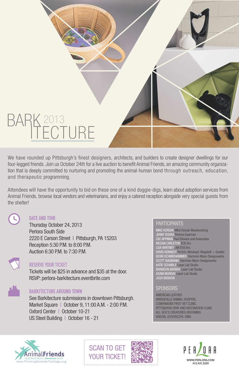 Barkitecture 2013 poster