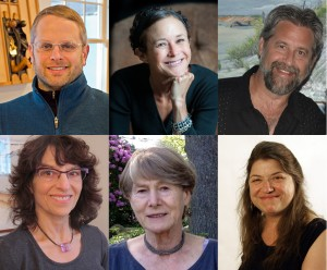 "the artists who will speak at the fuller craft museum's for ""making meaning"" roundtable discussion"