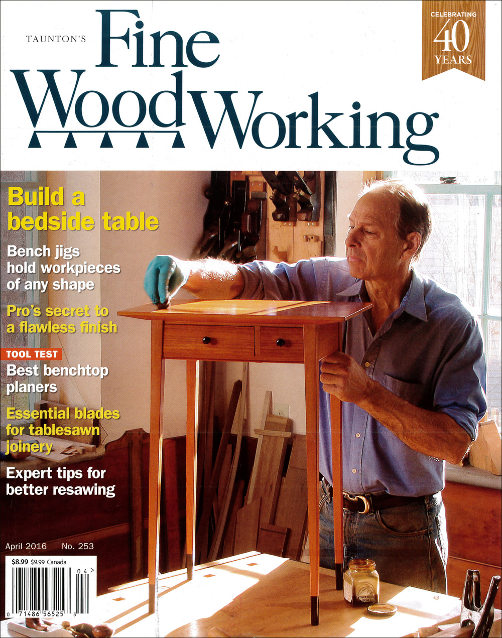 Fine Woodworking Magazine 2016