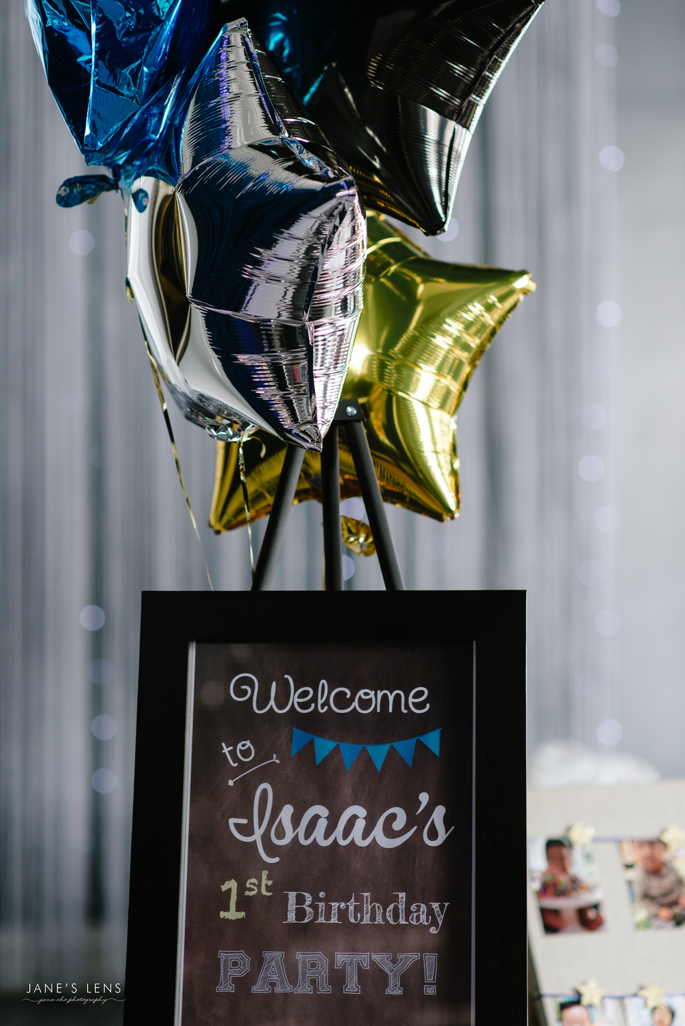 Twinkle Twinkle Little Star Dohl Dohlsang Welcome Chalkboard Sign Balloons doljanchi.jpg
