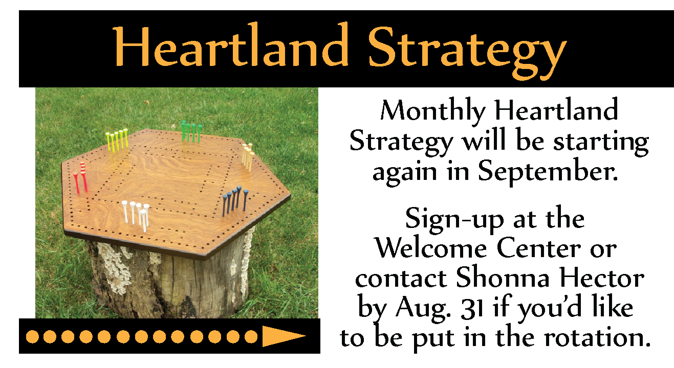 Heartland Strategy Sign Up