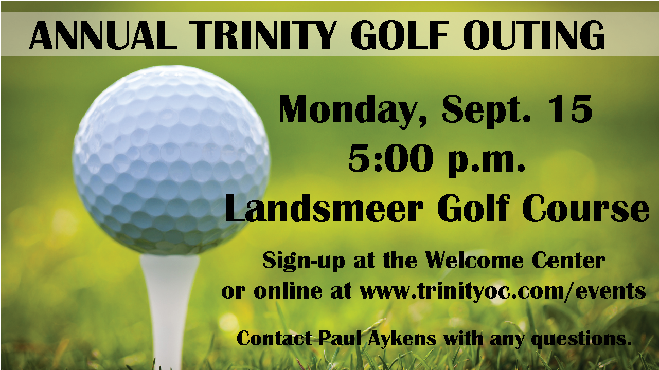 Annual Trinity Golf Outing