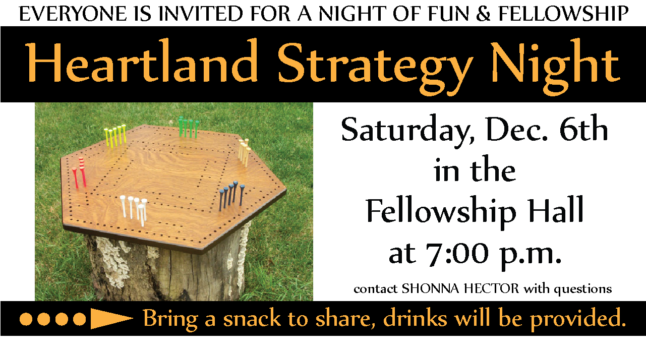 Heartland Strategy Night