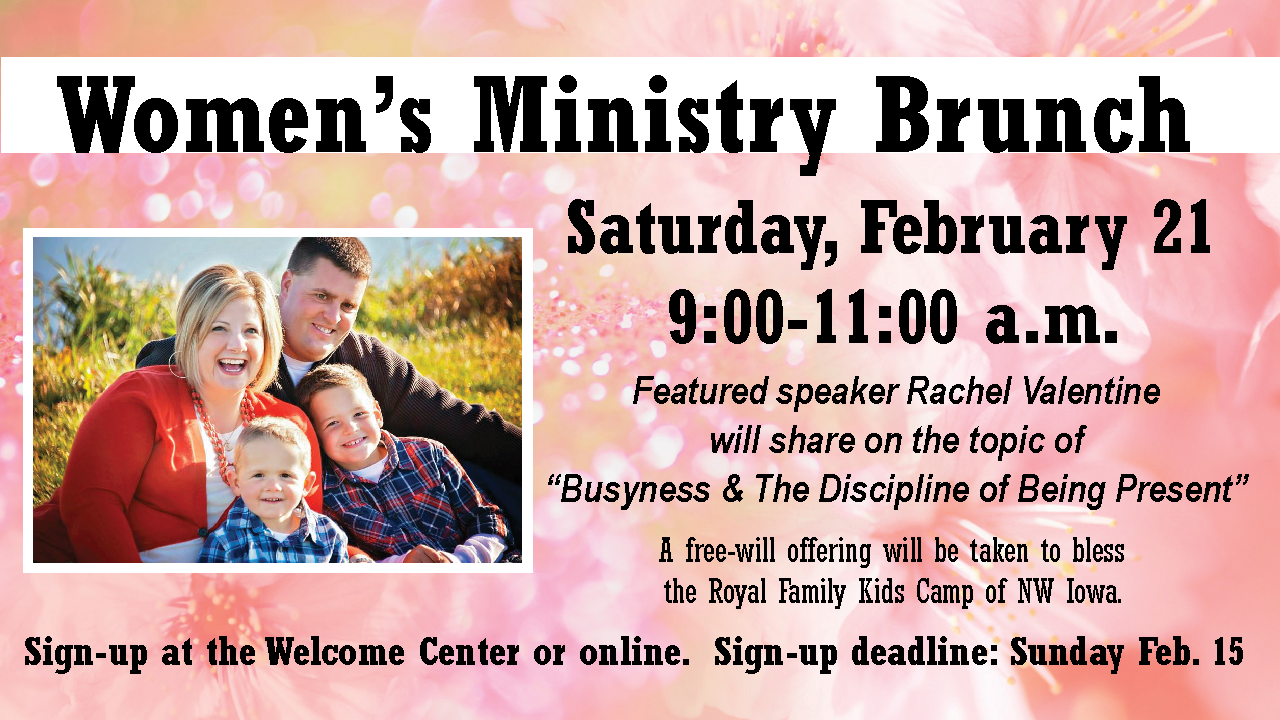 Womens Ministry Brunch RValentine