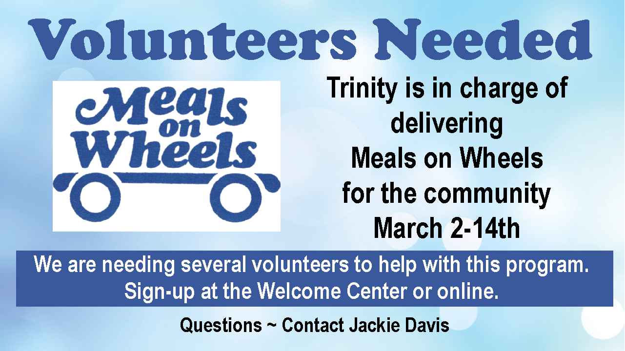 Meals on Wheels Volunteers