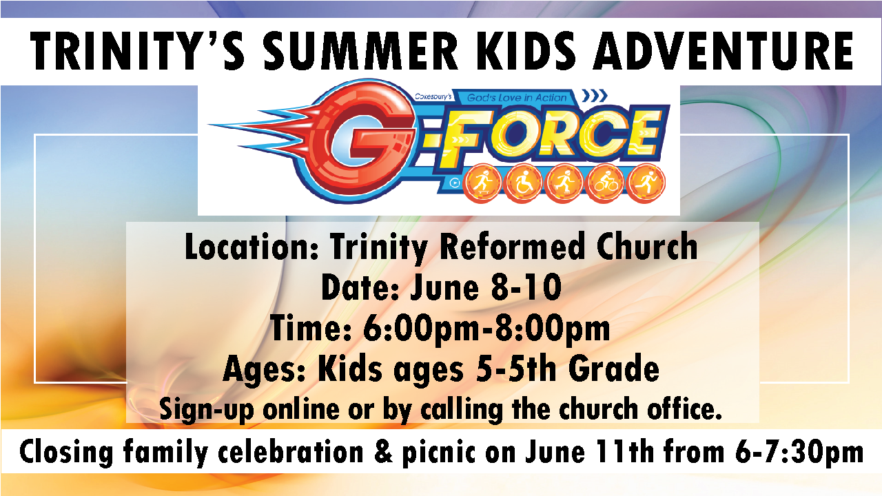 Gforce Summer Kids Adventure 2015