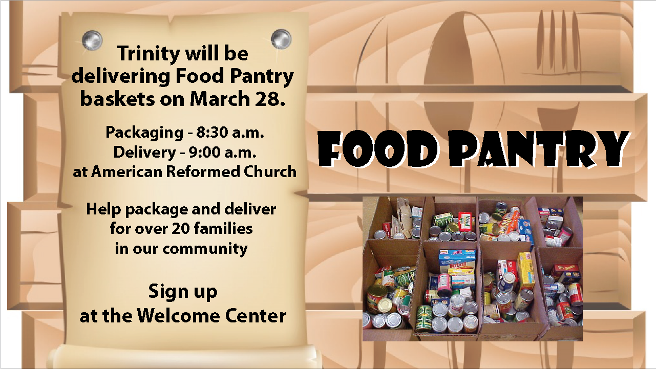 Food Pantry March