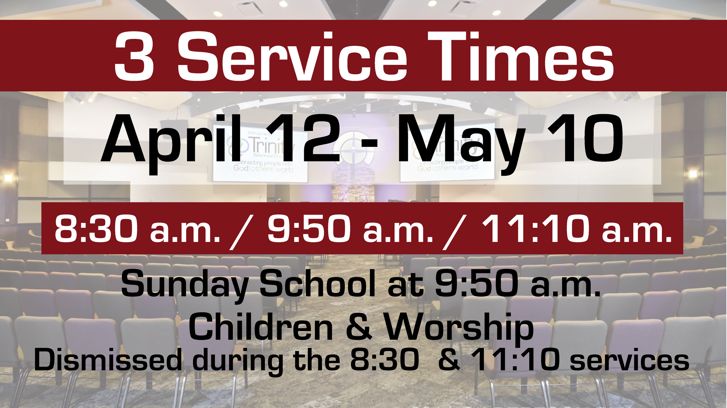 3 Service Times