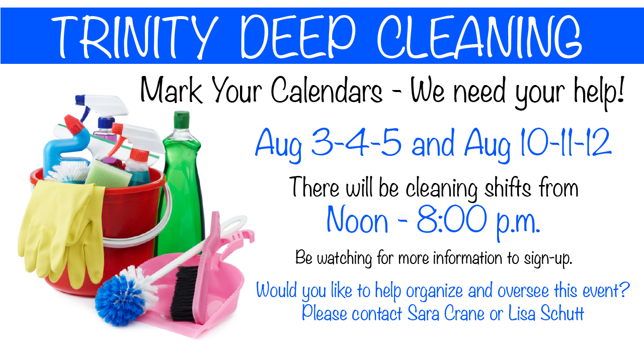 Deep Cleaning Aug 2015