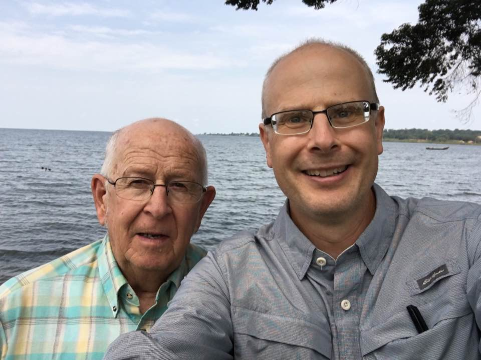 Happy Fathers Day! So glad to spend 2016 FD with dad at Lake Victoria.