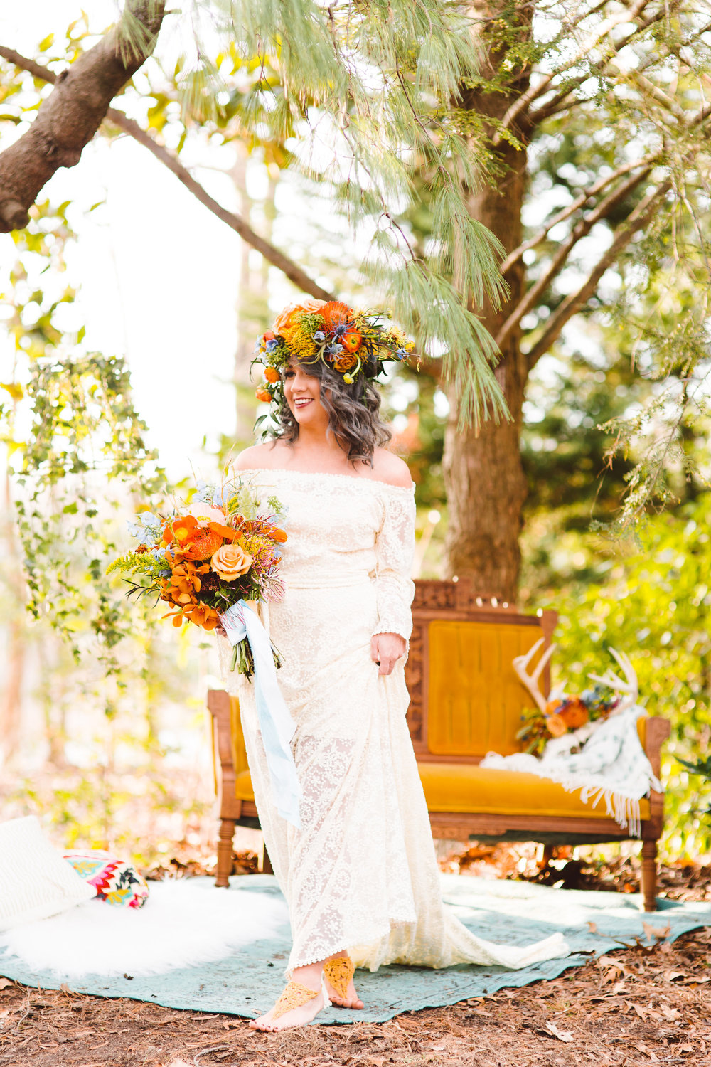 Whimsical Boho Bride