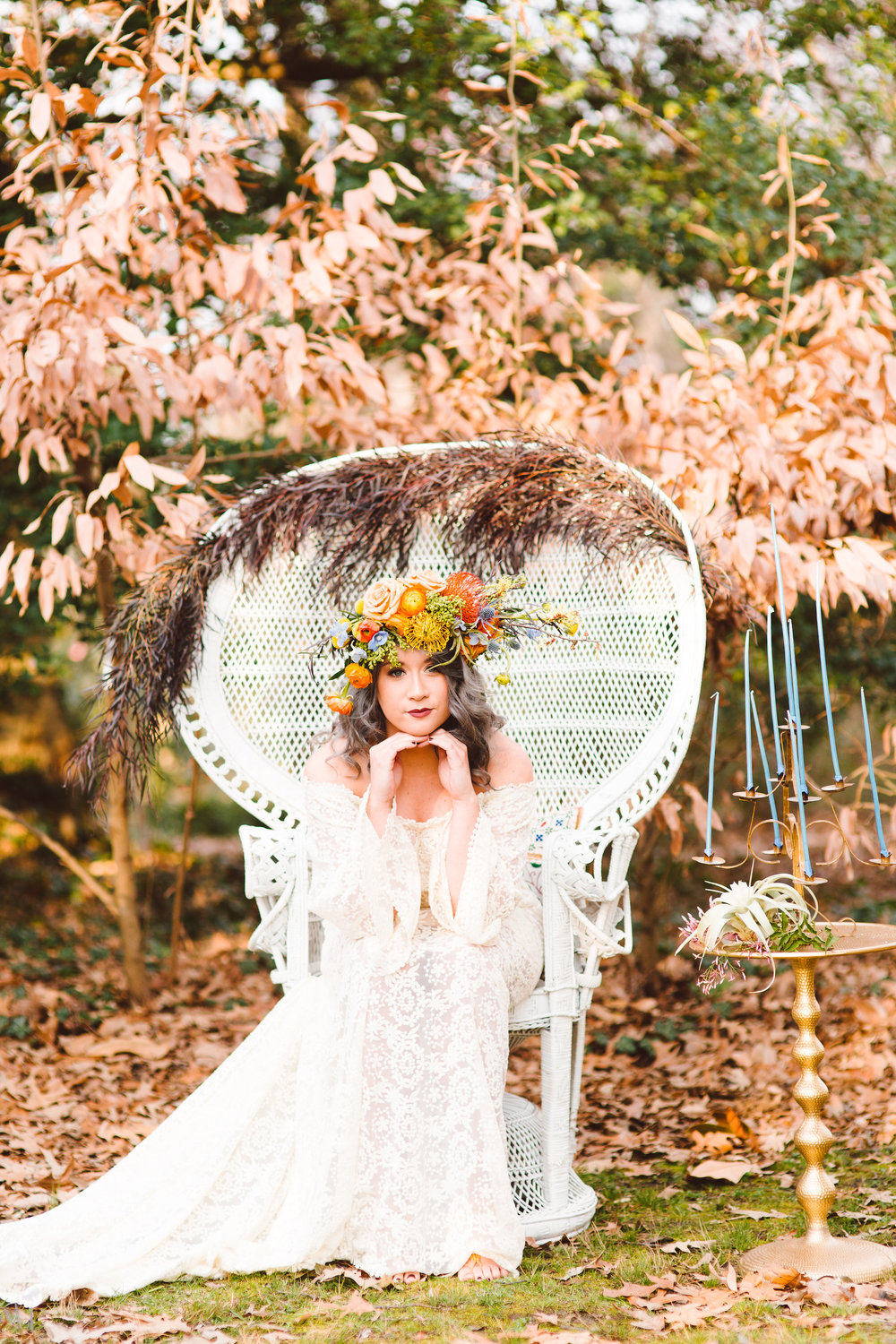 Boho Bride Inspiration by Lark Floral