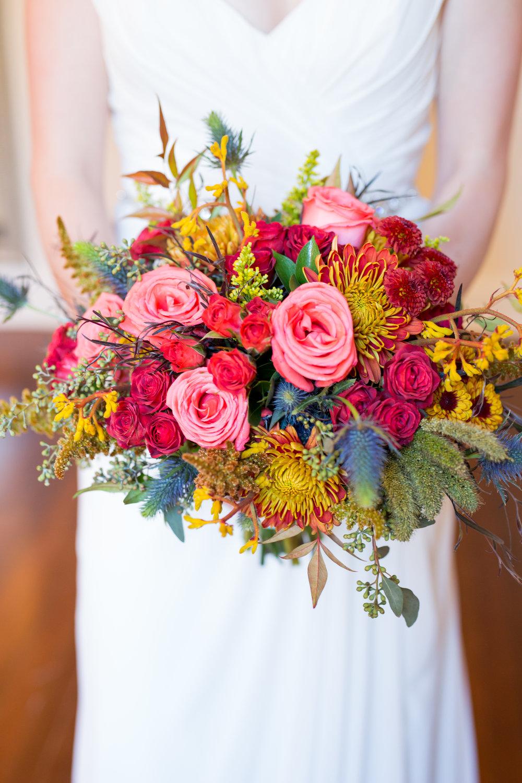 Textural fall bridal bouquet by Lark Floral, Leesburg, VA
