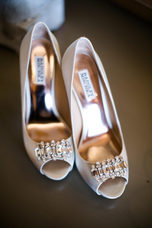 Bridal Shoes at Shadow Creek