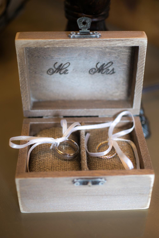 Ring Box for Shadow Creek Wedding