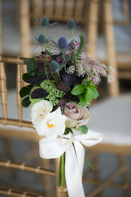 Aisle Marker bouquet by Lark Floral