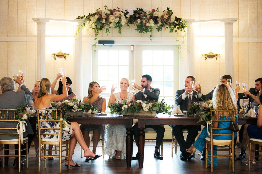 King's Table at Shadow Creek Wedding