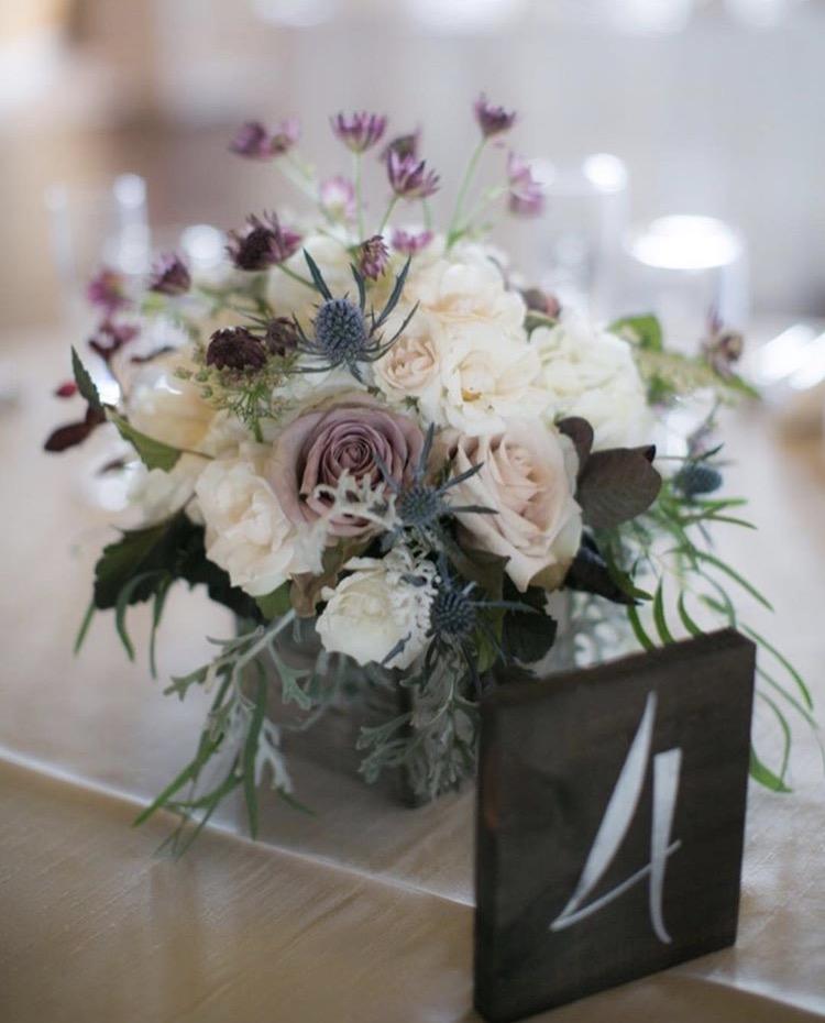 Wedding Centerpiece at Shadow Creek