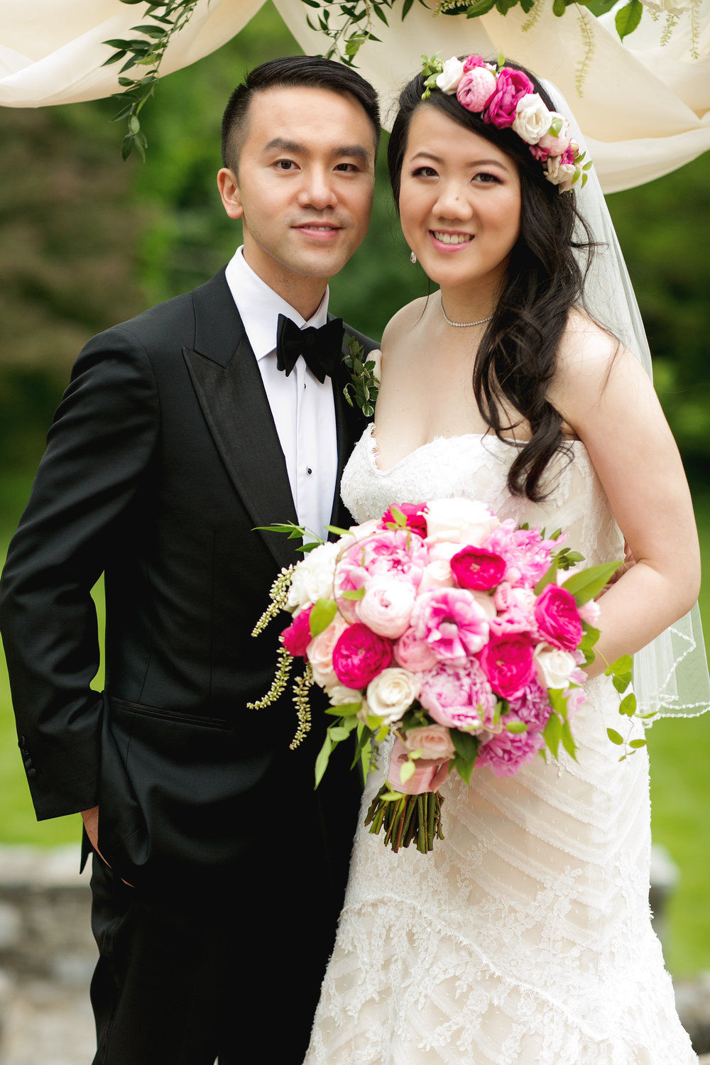 Spring Wedding at Rosemont Manor  Ethan Yang Photography