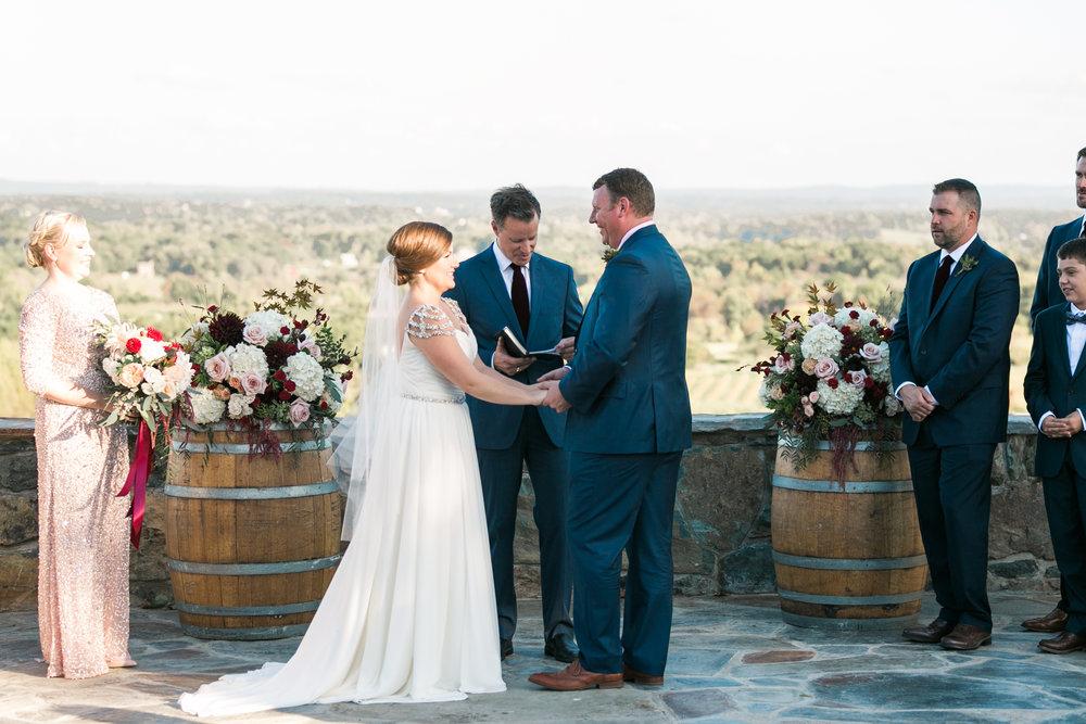 Wedding at Bluemont Vineyard