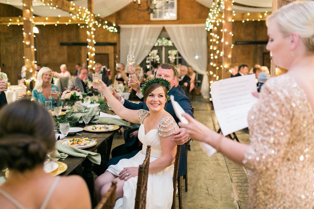 Wedding Reception at Bluemont Vineyard