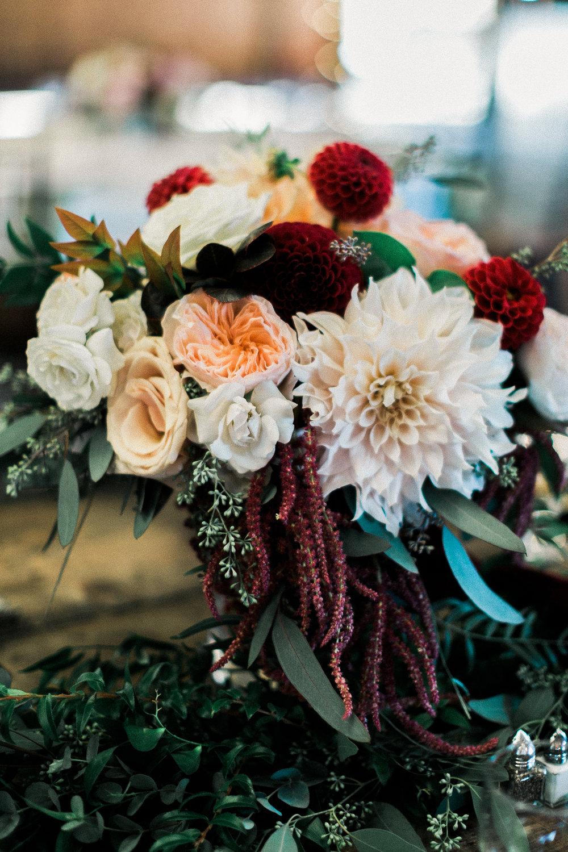 Bridal Bouquet with Cafe au lait dahlia