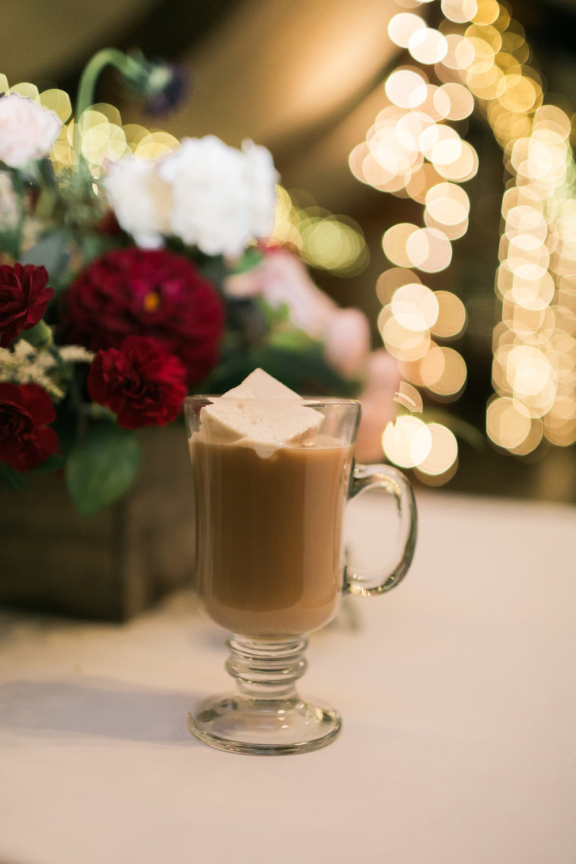 Hot Chocolate at wedding