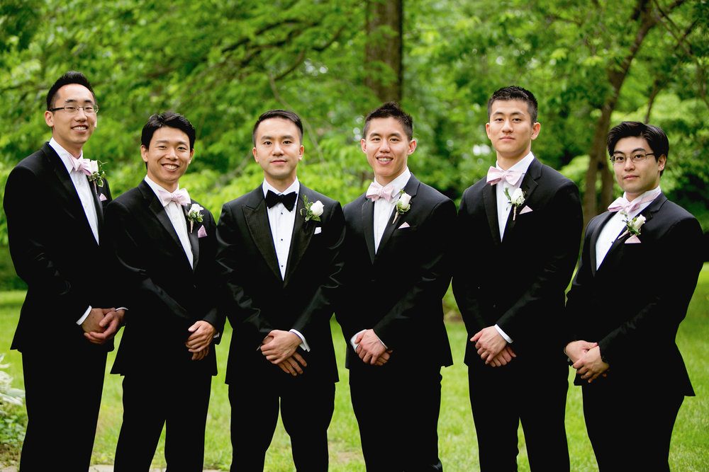 Groomsmen and Rosemont Manor