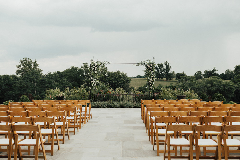 Ceremony site at Shadow Creek
