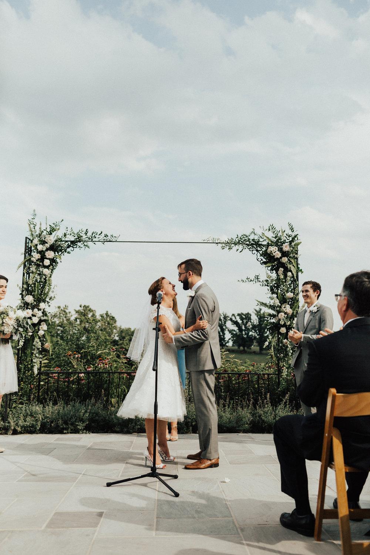 Wedding Ceremony at Shadow Creek