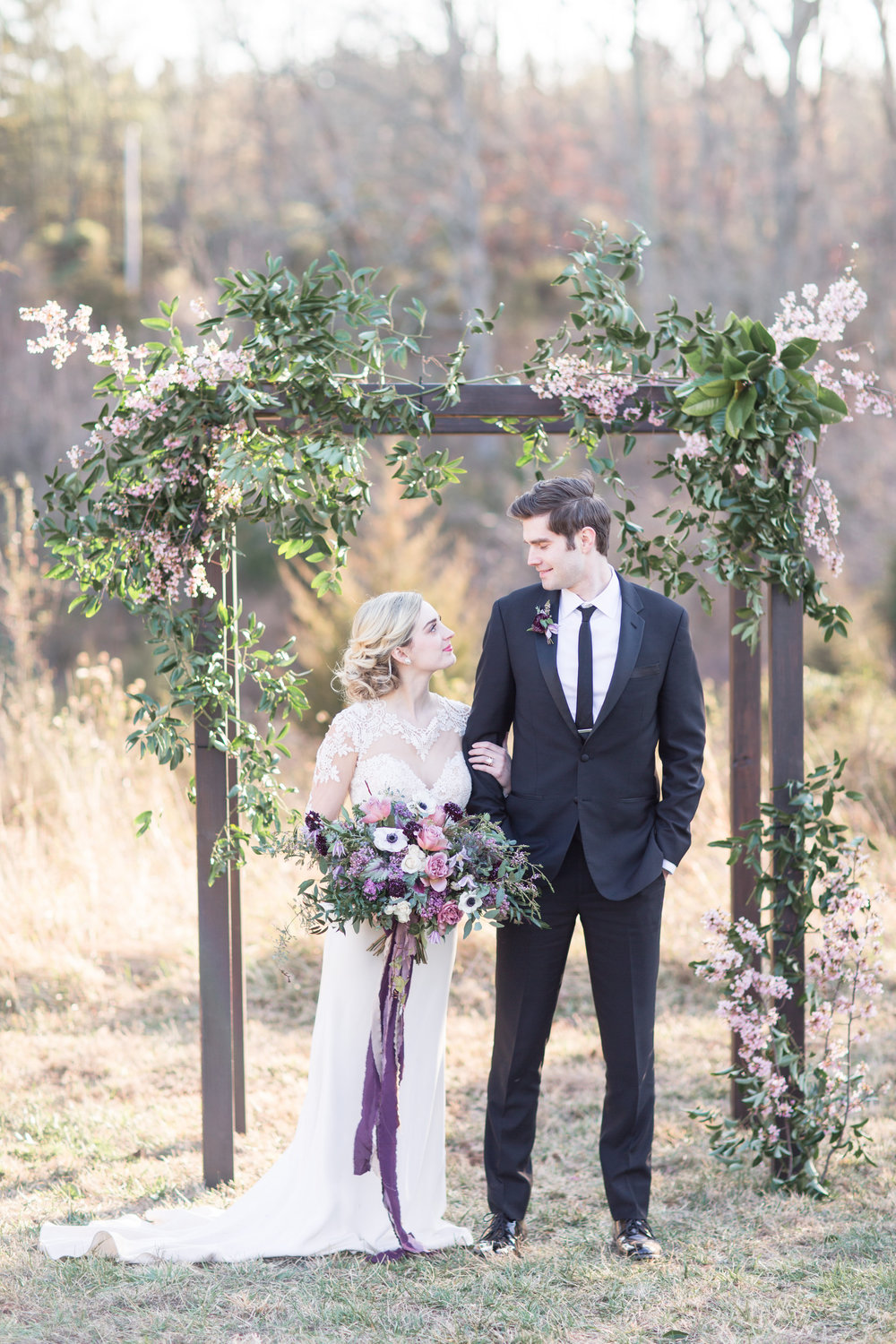 7.5 foot Wooden Arch