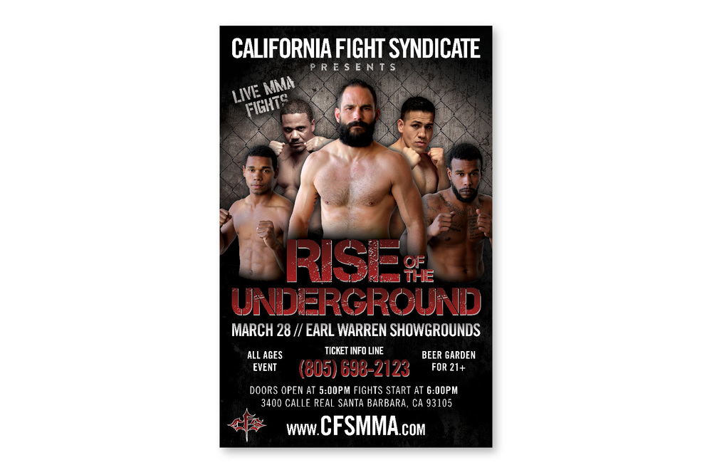 California Fight Syndicate  Print / Web