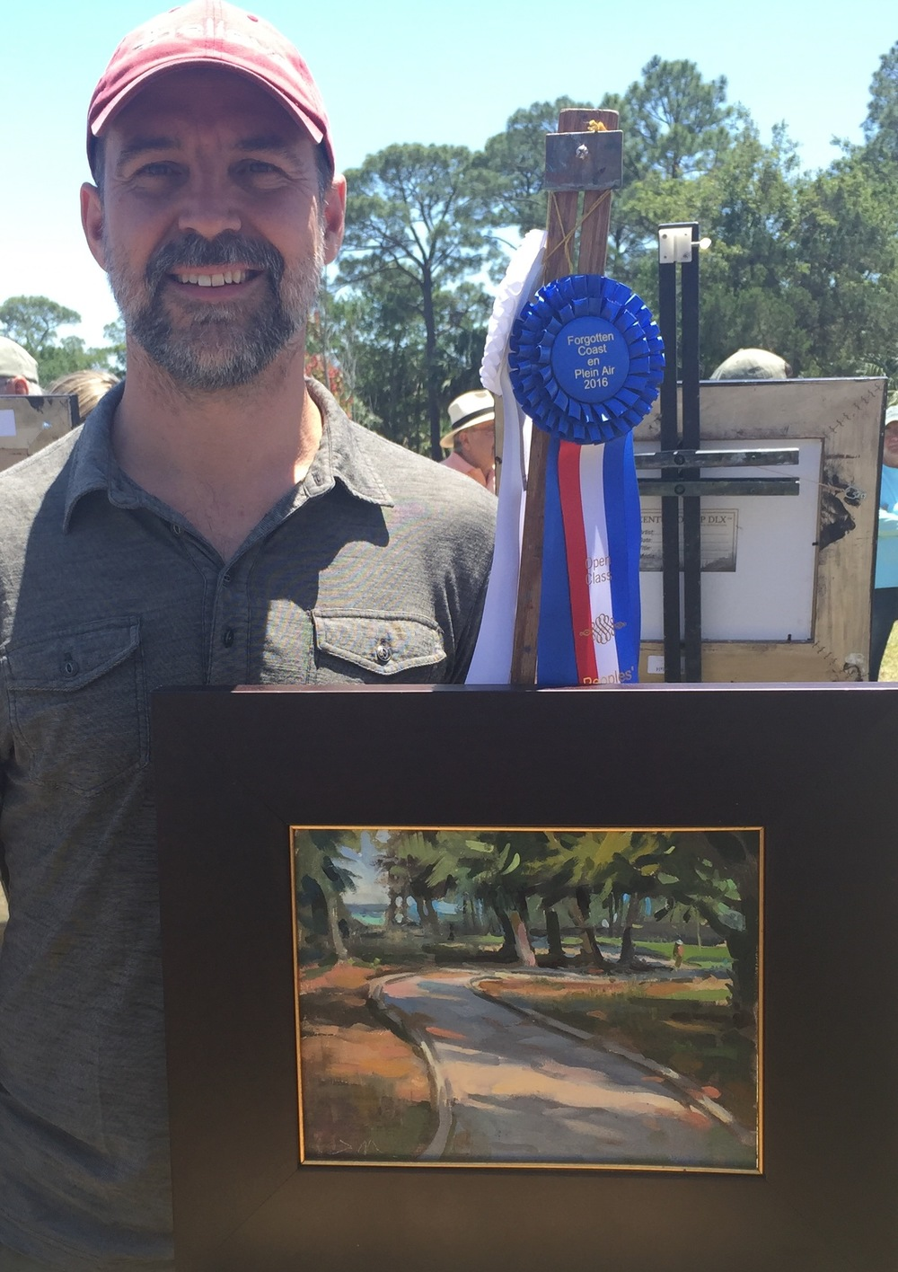 I was very grateful and honored to win Third Place and Peoples Choice Award at The Forgotten Coast Quick Paint Open Competition. Thank you Apalachicola