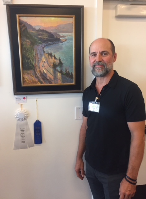 Very honored to be awarded 3rd place as well as the Museum Purchase award for my painting Smoke N' 84 at the Pacific Northwest Plein Air Event at the Mary Hill Museum in the Columbia River Gorge. Thank you to juror Randall Sexton and all the other winners, participating artists, volunteers and museum curator Steve Grafe for an awesome week. Looking forward to returning next year. - August 5th 2018