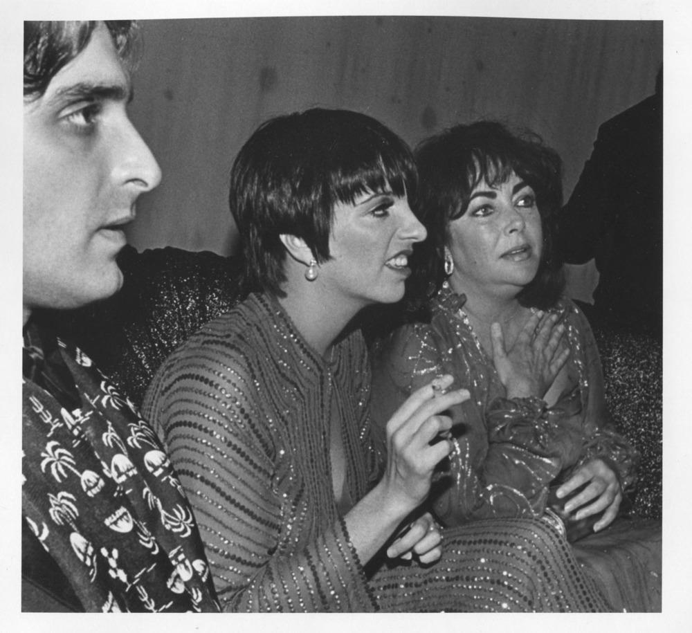 Elizabeth Taylor, Liza Manelli, Marc Gero, Studio 54 NYC