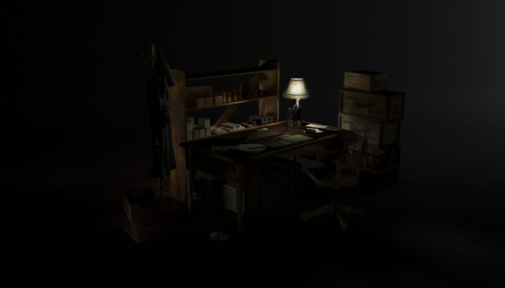 Harry's Office