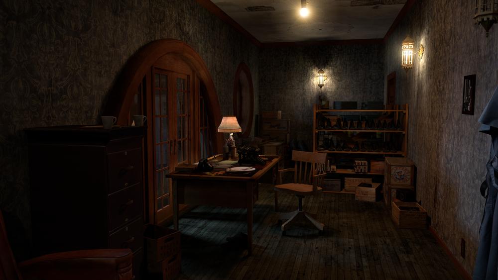 Larry Mitchel's office