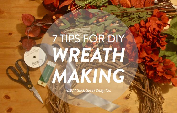 fall style 7 tips for diy wreath making stevie storck design co